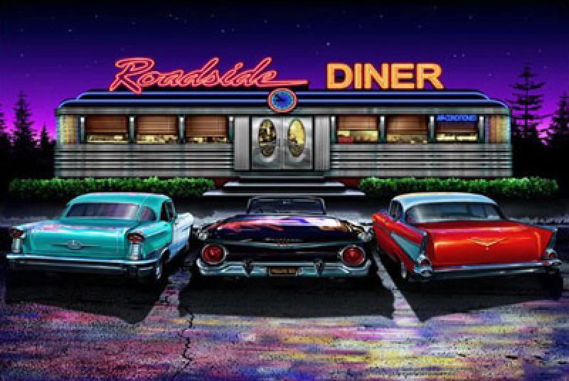 roadside diner limited editions all artwork helen